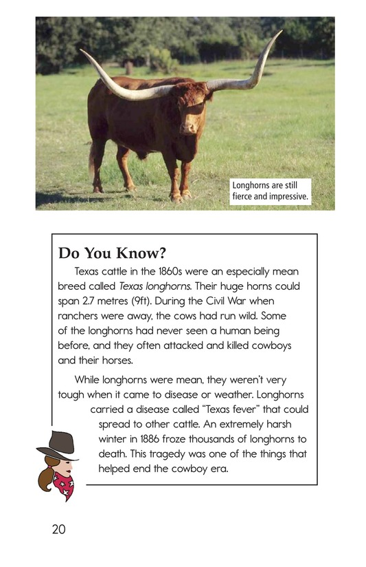 Book Preview For Yee Haw! The Real Lives of the Cowboys Page 20