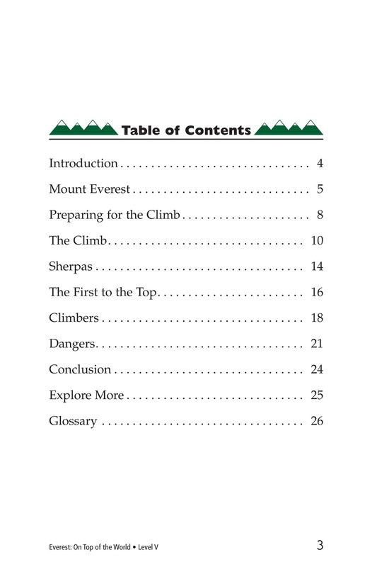 Book Preview For Everest: On Top of the World Page 3