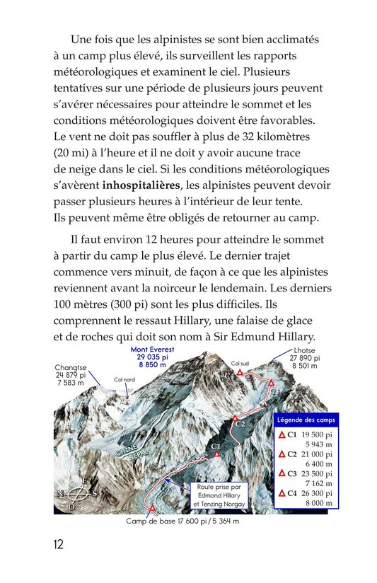 Book Preview For Everest: On Top of the World Page 12