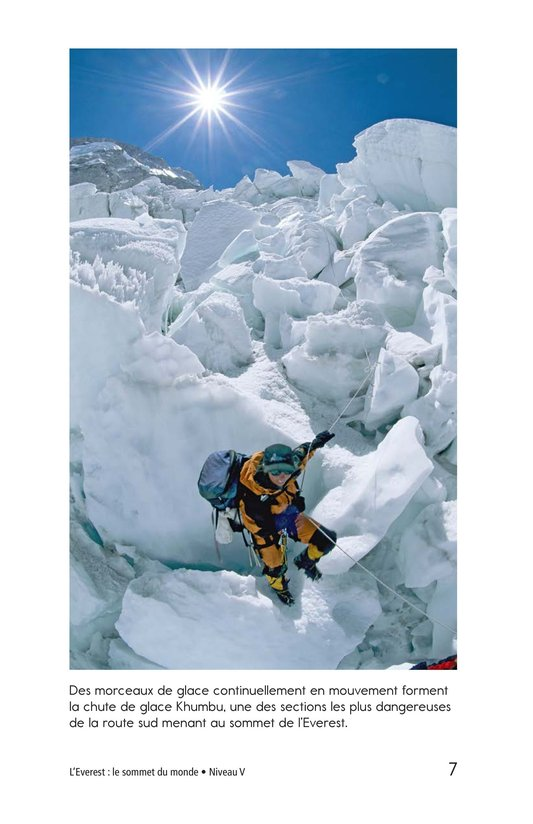 Book Preview For Everest: On Top of the World Page 7