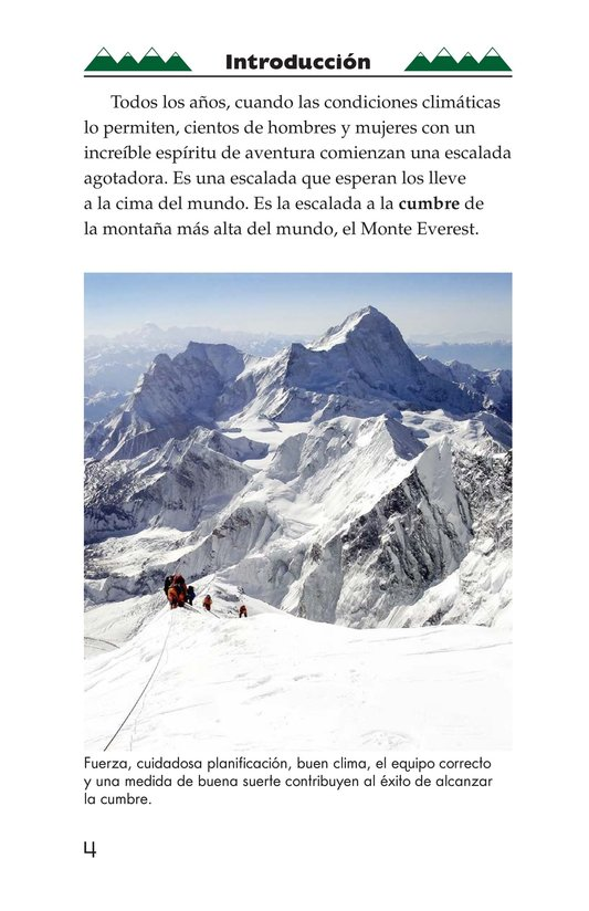 Book Preview For Everest: On Top of the World Page 4