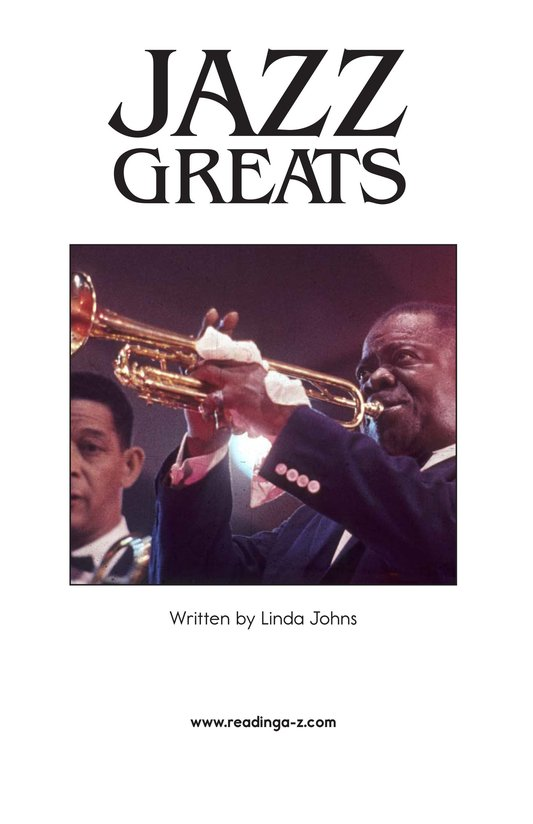 Book Preview For Jazz Greats Page 2