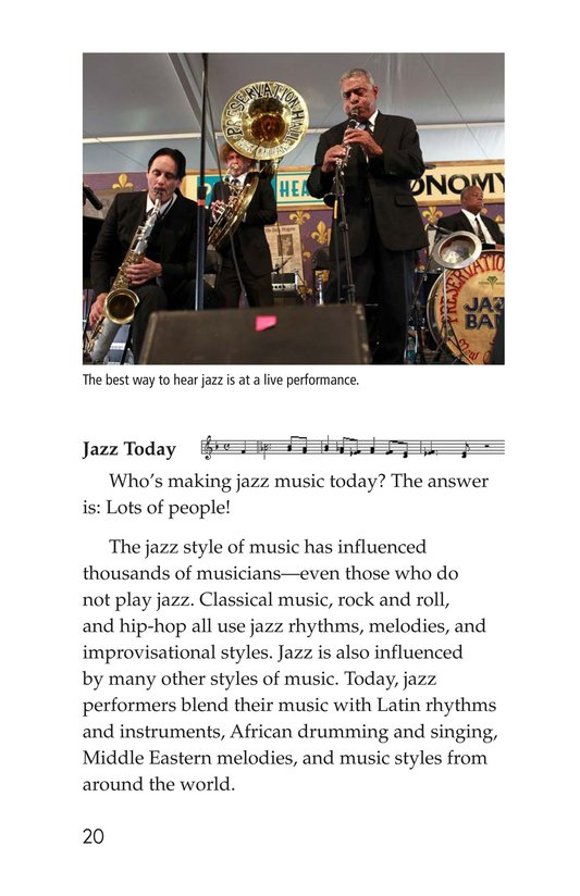 Book Preview For Jazz Greats Page 20