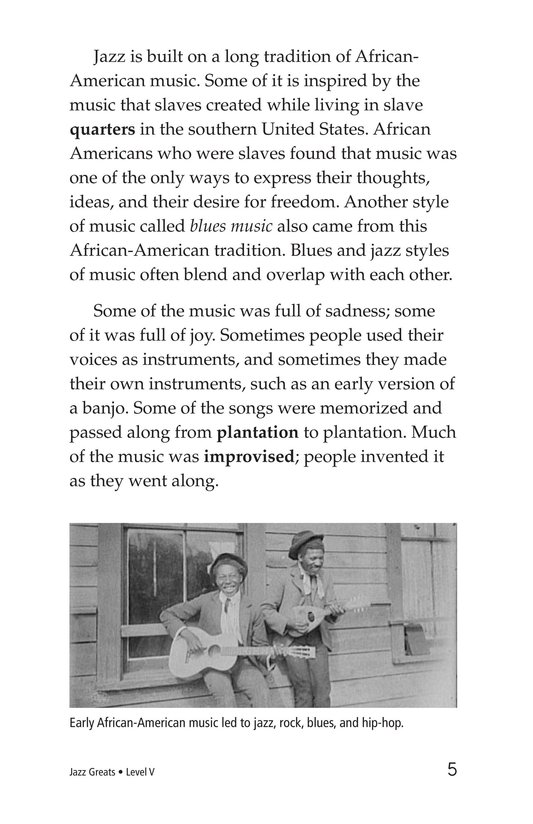 Book Preview For Jazz Greats Page 5