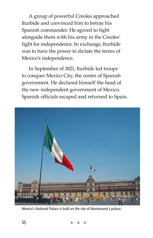 Book Preview For Mexico's Fight for Independence Page 16