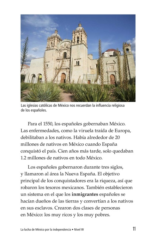 Book Preview For Mexico's Fight for Independence Page 11
