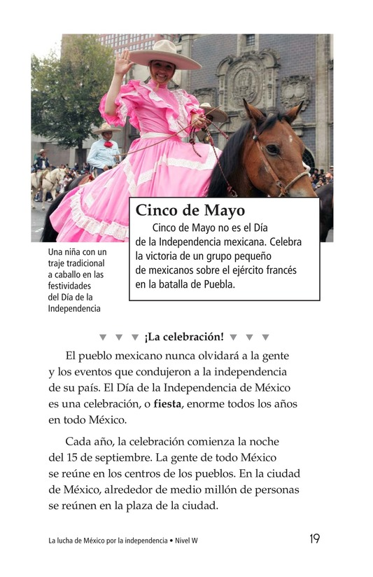 Book Preview For Mexico's Fight for Independence Page 19
