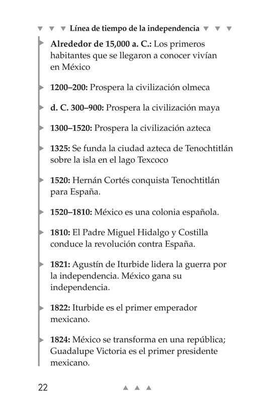 Book Preview For Mexico's Fight for Independence Page 22