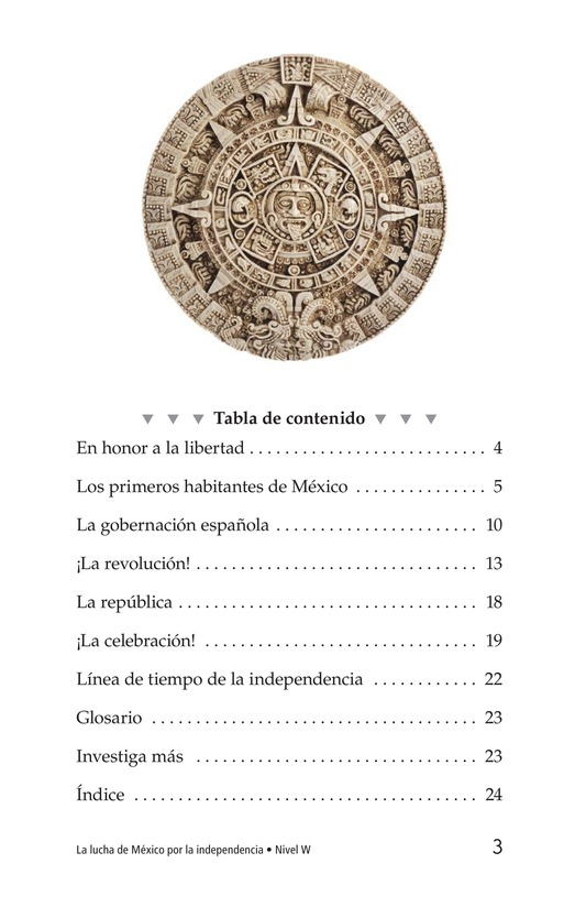 Book Preview For Mexico's Fight for Independence Page 3