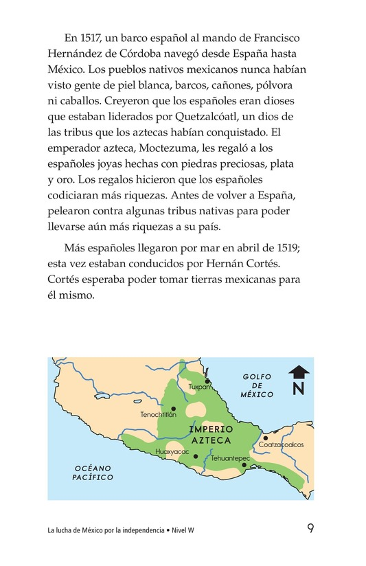 Book Preview For Mexico's Fight for Independence Page 9