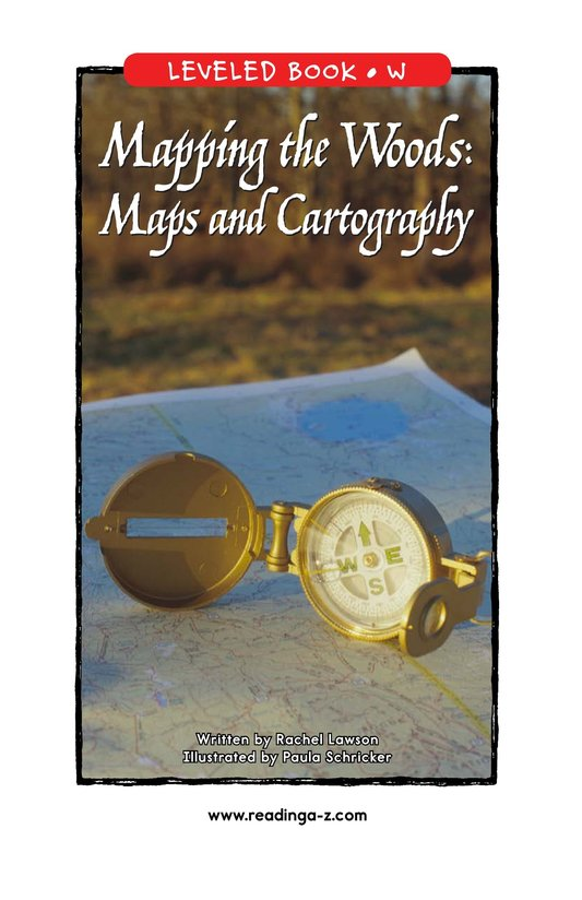 Book Preview For Mapping the Woods: Maps and Cartography Page 1