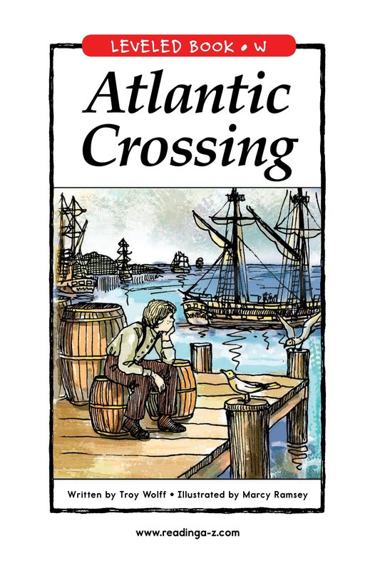 Book Preview For Atlantic Crossing Page 1