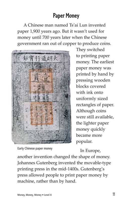 Book Preview For Money, Money, Money Page 11