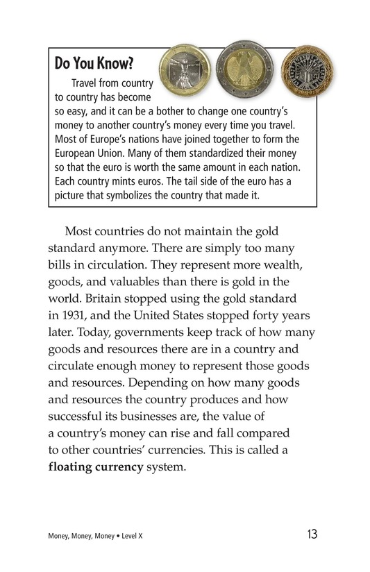 Book Preview For Money, Money, Money Page 13