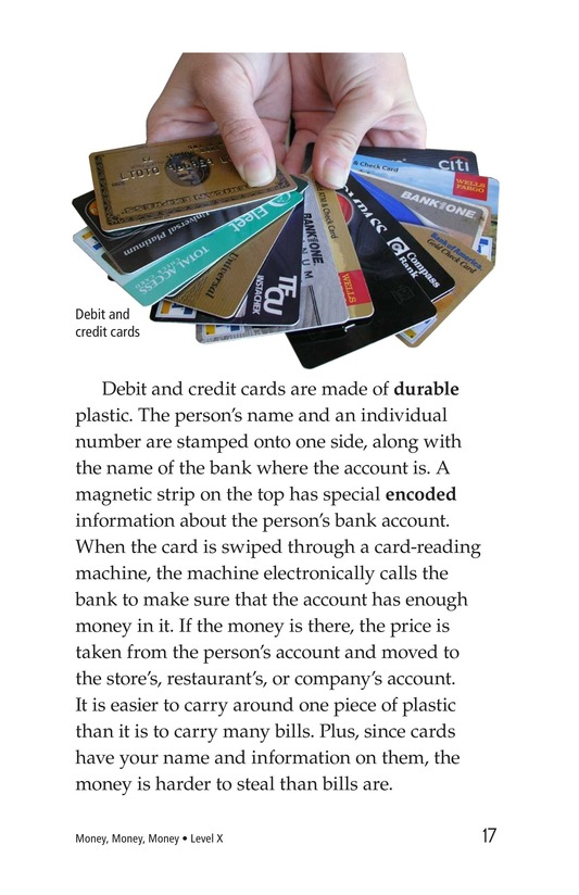 Book Preview For Money, Money, Money Page 17