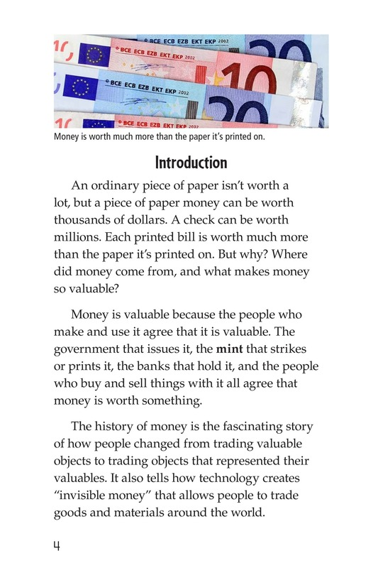 Book Preview For Money, Money, Money Page 4