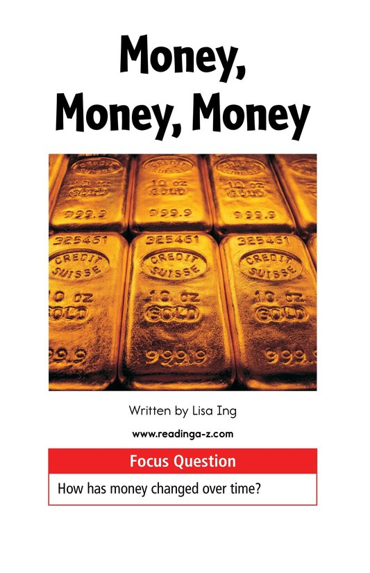 Book Preview For Money, Money, Money Page 2
