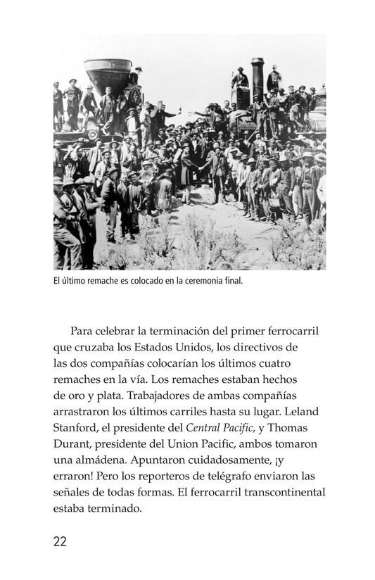Book Preview For The Transcontinental Railroad Page 22
