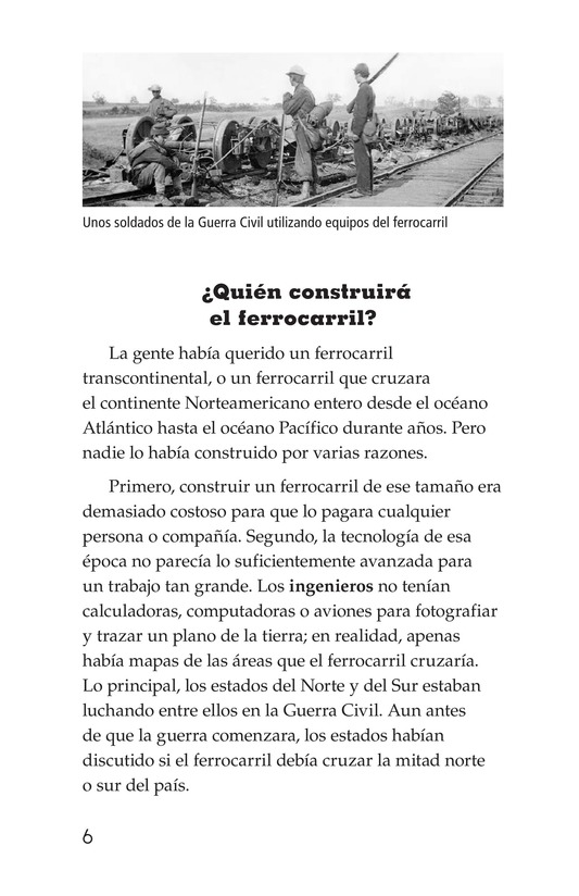 Book Preview For The Transcontinental Railroad Page 6