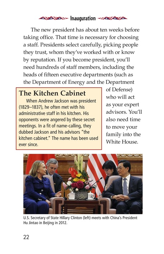 Book Preview For Your Road to the White House Page 22
