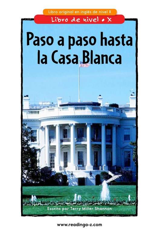 Book Preview For Your Road to the White House Page 1