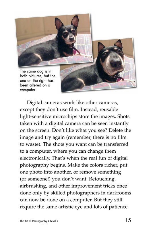 Book Preview For The Art of Photography Page 15