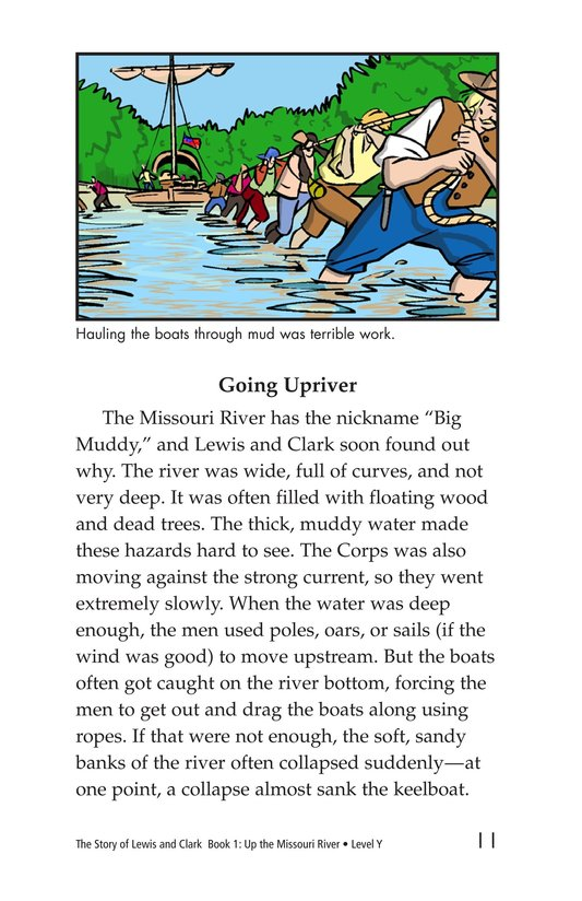Book Preview For The Story of Lewis and Clark Book 1: Up the Missouri River Page 11