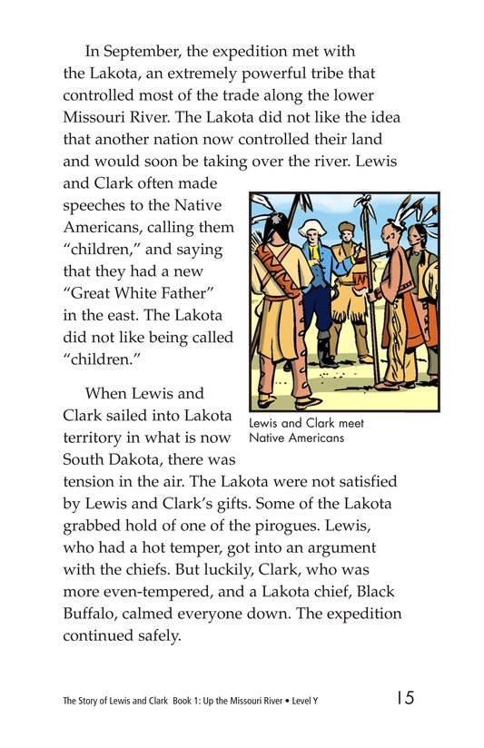 Book Preview For The Story of Lewis and Clark Book 1: Up the Missouri River Page 15