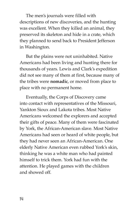 Book Preview For The Story of Lewis and Clark Book 1: Up the Missouri River Page 14