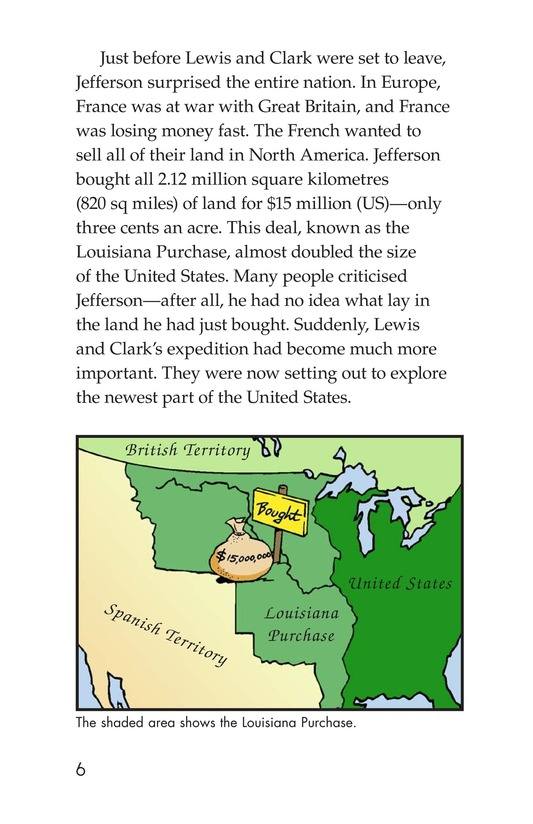 Book Preview For The Story of Lewis and Clark Book 1: Up the Missouri River Page 6