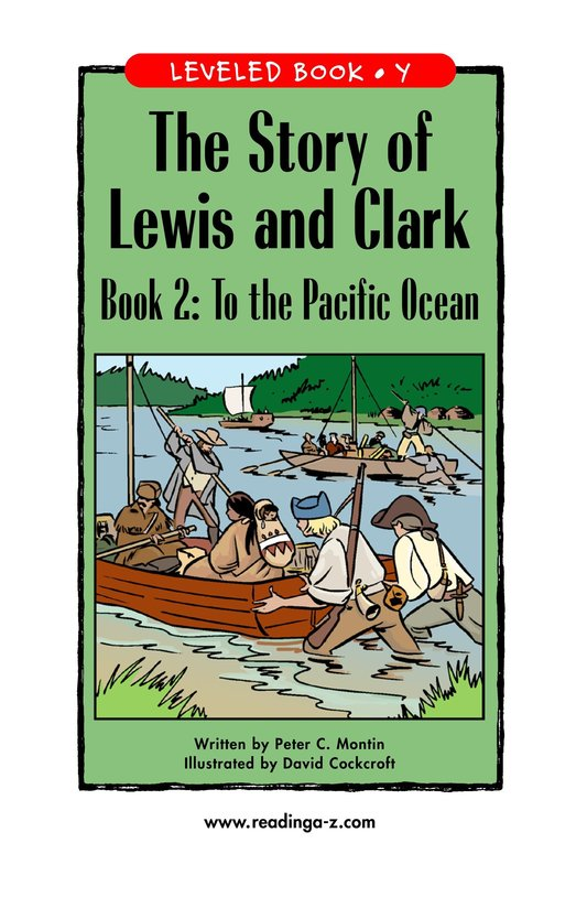 Book Preview For The Story of Lewis and Clark Book 2: To the Pacific Ocean Page 1