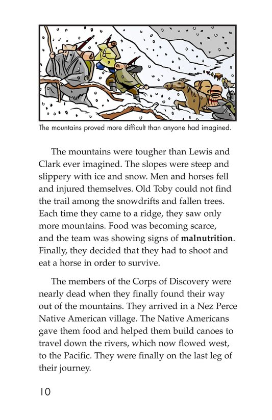 Book Preview For The Story of Lewis and Clark Book 2: To the Pacific Ocean Page 10