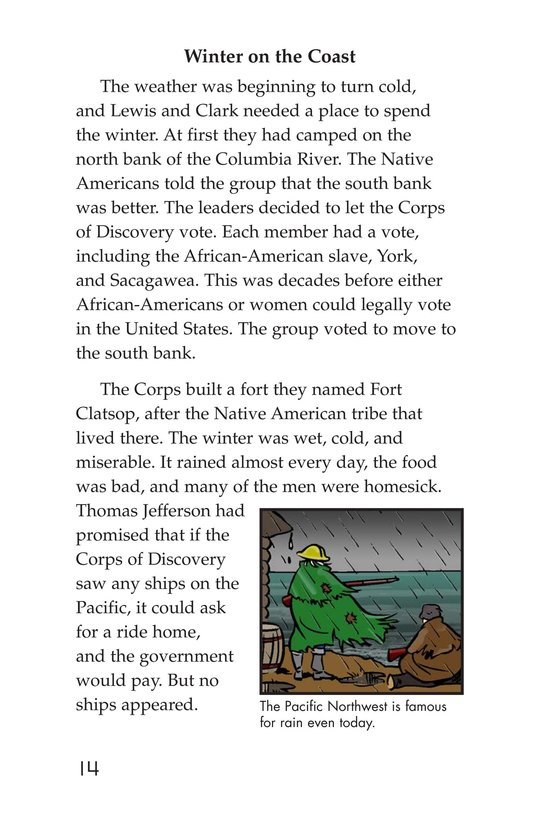 Book Preview For The Story of Lewis and Clark Book 2: To the Pacific Ocean Page 14