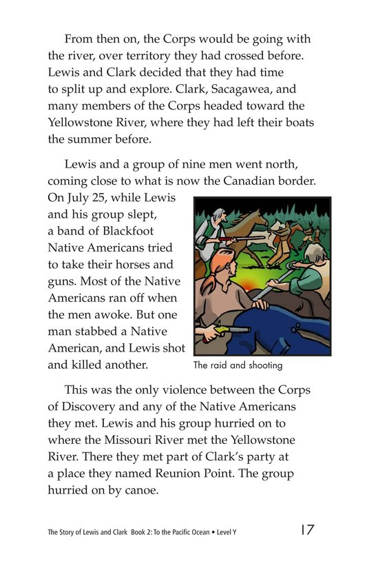 Book Preview For The Story of Lewis and Clark Book 2: To the Pacific Ocean Page 17