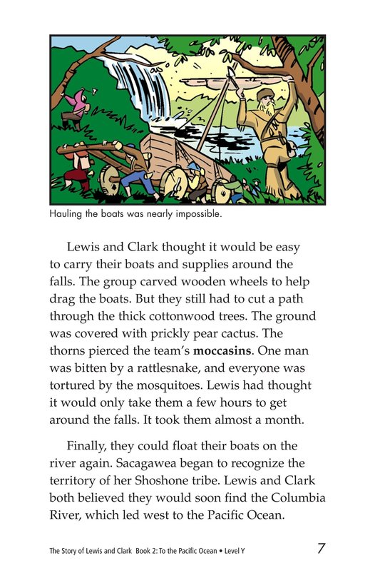 Book Preview For The Story of Lewis and Clark Book 2: To the Pacific Ocean Page 7