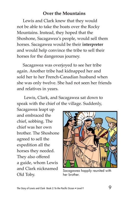 Book Preview For The Story of Lewis and Clark Book 2: To the Pacific Ocean Page 9