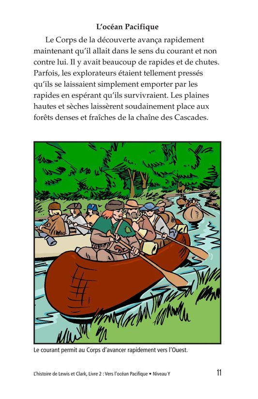 Book Preview For The Story of Lewis and Clark Book 2: To the Pacific Ocean Page 11