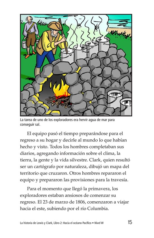 Book Preview For The Story of Lewis and Clark Book 2: To the Pacific Ocean Page 15