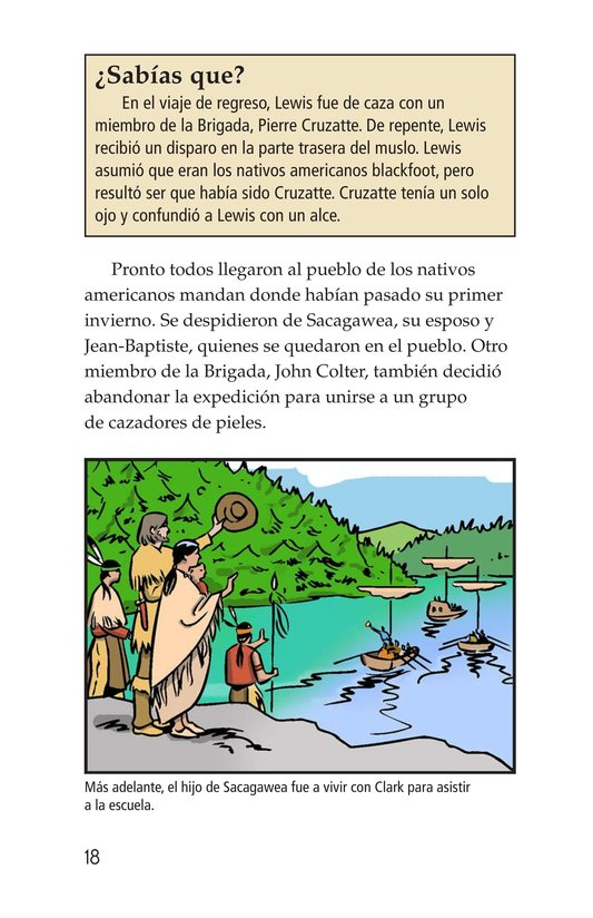 Book Preview For The Story of Lewis and Clark Book 2: To the Pacific Ocean Page 18