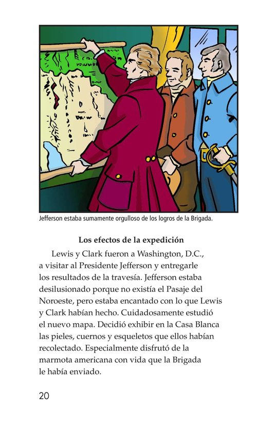 Book Preview For The Story of Lewis and Clark Book 2: To the Pacific Ocean Page 20