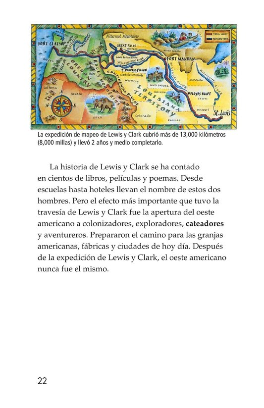 Book Preview For The Story of Lewis and Clark Book 2: To the Pacific Ocean Page 22