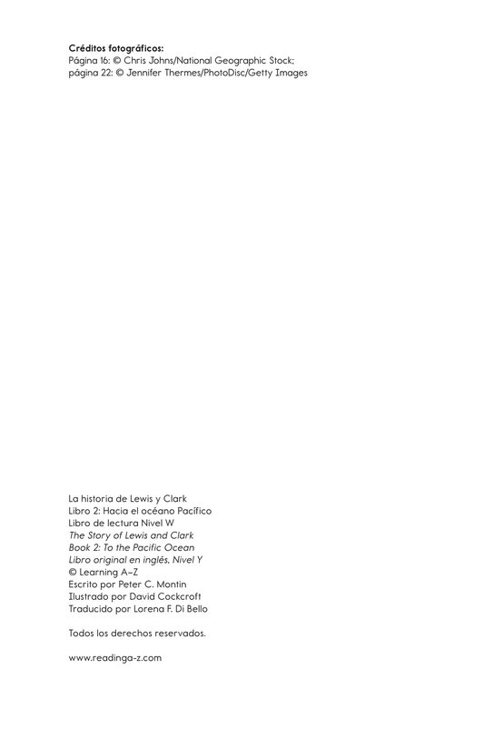 Book Preview For The Story of Lewis and Clark Book 2: To the Pacific Ocean Page 25