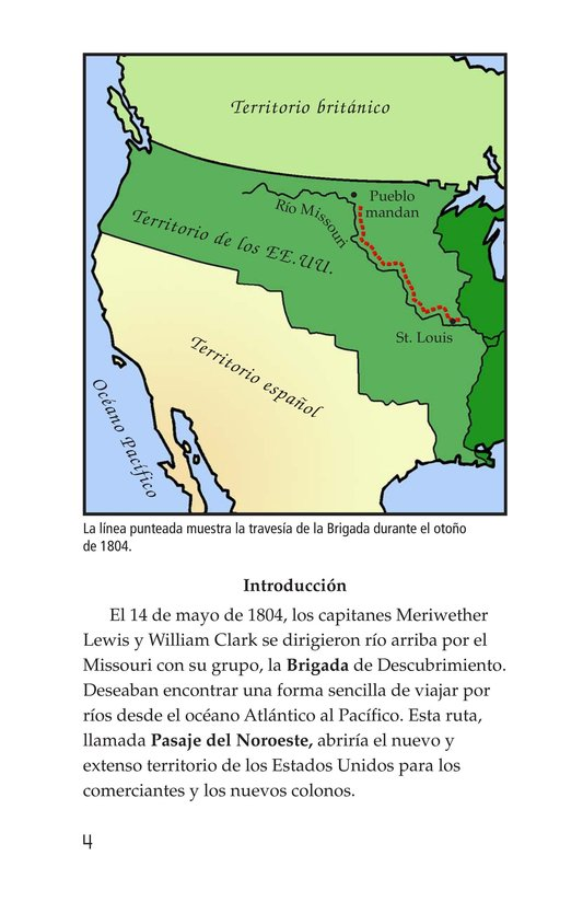 Book Preview For The Story of Lewis and Clark Book 2: To the Pacific Ocean Page 4