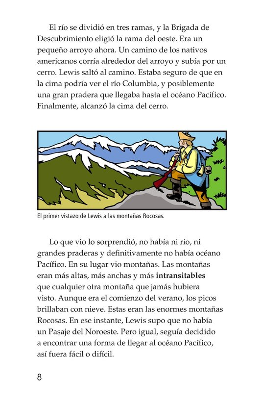 Book Preview For The Story of Lewis and Clark Book 2: To the Pacific Ocean Page 8
