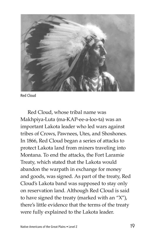 Book Preview For Native Americans of the Great Plains Page 19