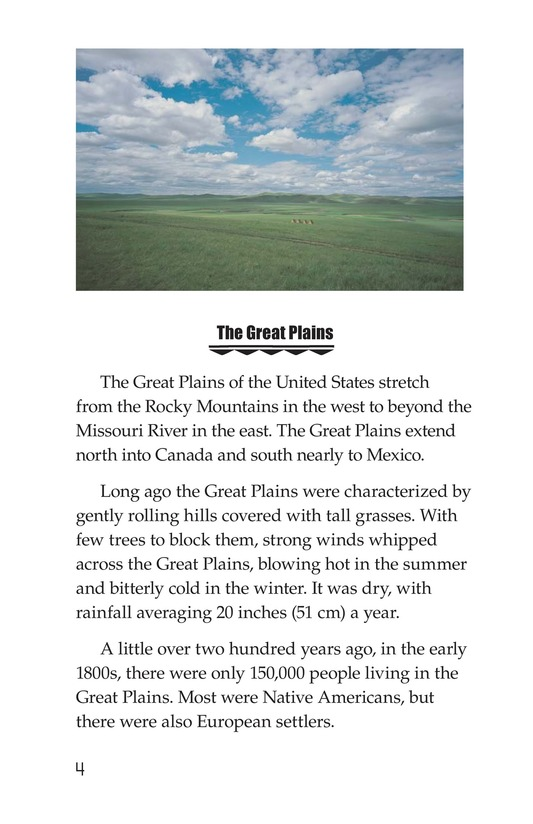 Book Preview For Native Americans of the Great Plains Page 4