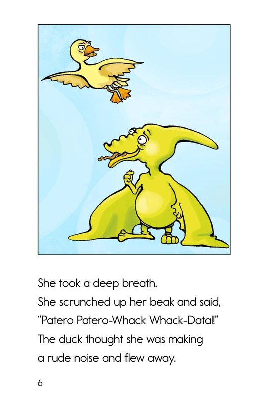 Book Preview For Can You Say Pterodactyl? Page 6