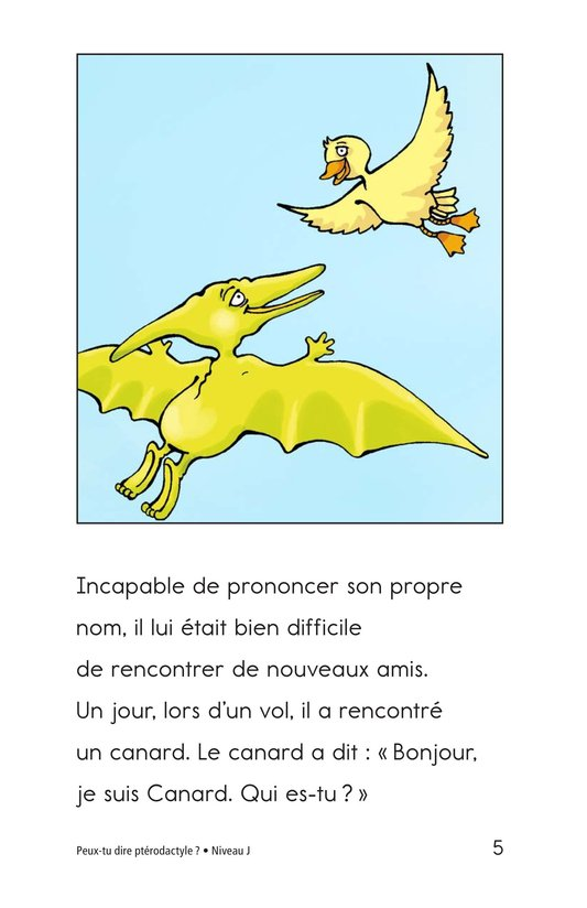 Book Preview For Can You Say Pterodactyl? Page 5