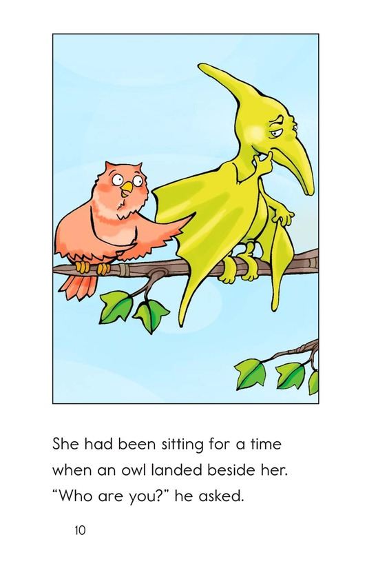 Book Preview For Can You Say Pterodactyl? Page 10