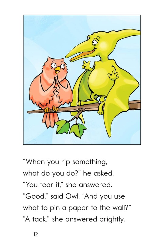 Book Preview For Can You Say Pterodactyl? Page 12